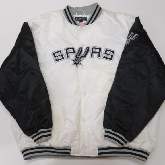 ab0d7d365 New Reebok NBA Fusion San Antonio Spurs Jacket Boutique